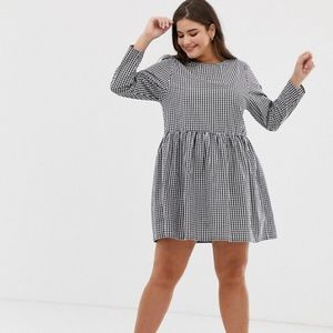 ASOS Curve Gingham Dress